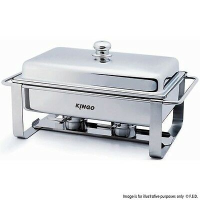 KG2502-1 Oblong Chafing Dish - Single VALUE