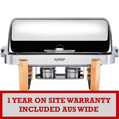 KGB6701-1 Oblong Chafing Dish with Gilt Legs - Single VALUE