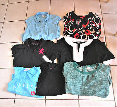 Lot of 60 Brand Name Juniors Clothes Clothing Size M  7 9 Extra Retail $1000