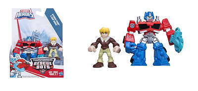 Playskool Heroes Transformers Rescue bots Optimus Prime & Cody HASBRO A0672