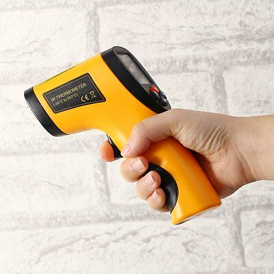 LCD Non-Contact IR Infrared Digital Temperature Thermometer Hand-held Laser Gun