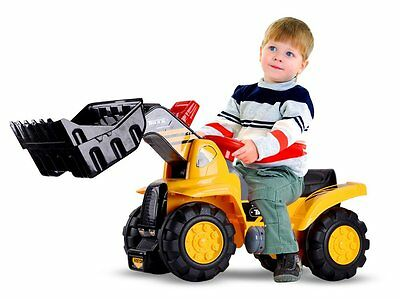 Excavator - bulldozer KIDS RIDE ON DIGGER KIDS BABY WALKER NEW BIG