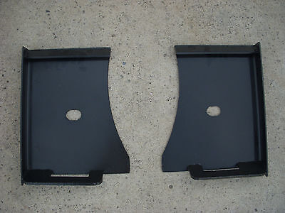 Bobcat Kubota Quick Attach Attachment Skid Steer Weld Mount Brackets - Free Ship