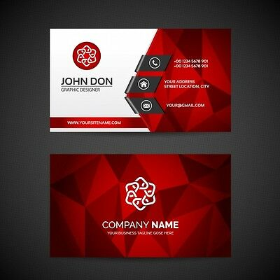 Professional Business Card Design + Unlimited Revision | No Logo