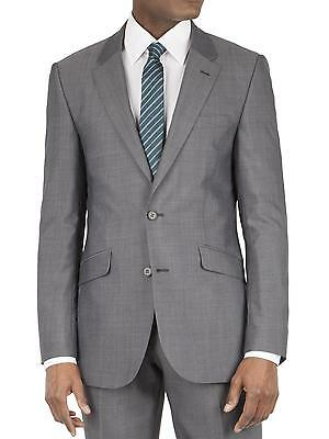 Suit Direct Tom English Grey Panama Tailored Fit Jacket 0042766