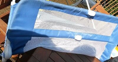 Blue Baby Child Toddler Bed Rail Safety Protection Guard