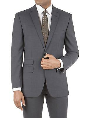 Suit Direct Racing Green Navy Micro Check Tailored Fit Suit Jacket 0045120