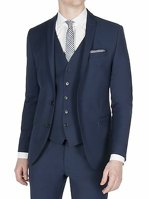 Suit Direct Limehaus Sapphire Twill Skinny Fit Jacket 0047835
