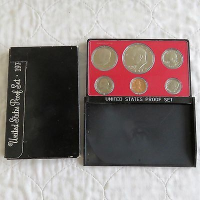 USA 1974 s 6 COIN PROOF YEAR SET WITH DOLLAR - sealed/outer