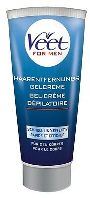 Veet for Men Haarentfernungs Gel Creme Rasieren Rasur Haar Entfernung 200 ml