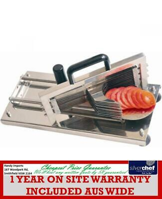 Fed Commercial Fast Tomato Slicer Manual Slicing Cutting Cutter Machine Ht-4