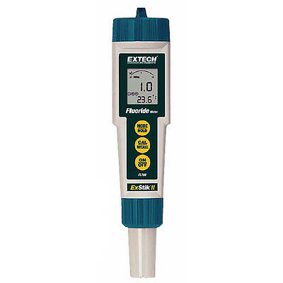 Extech FL700 Waterproof Fluoride Meter, 0.1 to 9.99ppm or mg/L
