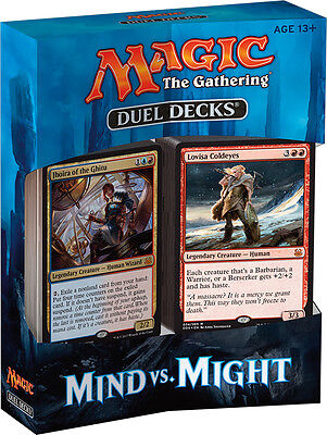 Magic The Gathering Duel Decks Mind Vs Might New / Sealed