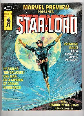 MARVEL PREVIEW #4 PRESENTS 1ST STAR-LORD! ORIGIN KEY! Guardians of the galaxy!!