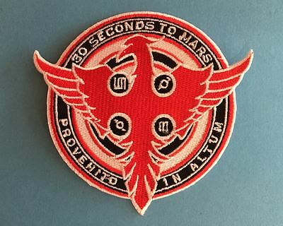 Thirty Seconds To Mars Rock Music Iron On Hat Jacket Backpack Hoodie Patch Crest