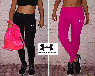 Under-Armour Women Compression Running Thermal GYM Tights pants Sports S MLXL