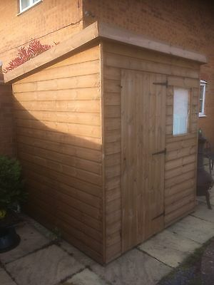 Quality Pent 6 X 6 Garden Shed