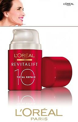 L'oreal Revitalift 10 Total Repair Crema Bb Anti-Eta' Medio-Chiara Anti-Rughe