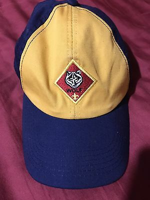 NWOT BSA Boy Scouts of America Cub Scout Wolf Hat-Size S/M