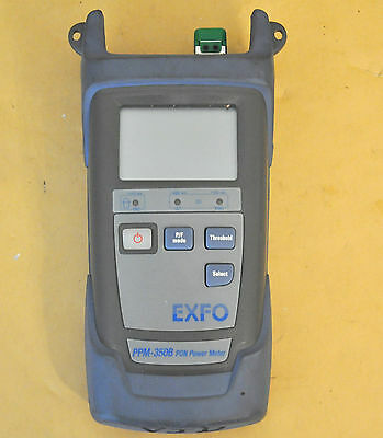 EXFO PPM-350B PON Power Meter No Accessories PPM-351B-EA-VZ1 PPM 350 351
