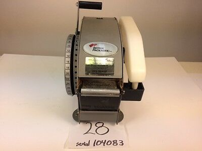 Better Pack 333 Plus Automatic Gummed Paper Tape Dispenser