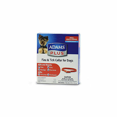 Adams Plus Flea and Tick Collar for Small Dogs and Puppies | 7 Month Protection