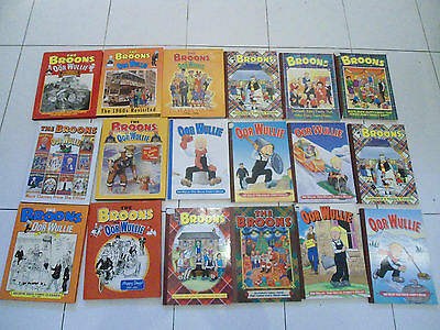 orr wullie and the broons books collectable joblot bundle x18