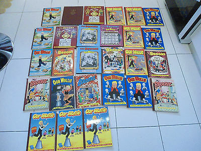 orr wullie and the broons books vintage 90s joblot bundle x27