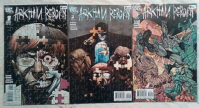 Batman Arkham Reborn #1 to 3 Complete Set - DC Comics