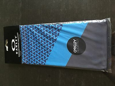 Oakley Microclear Storage / Cleaning Bag - French Blue - Brand New