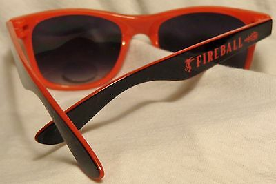 Fireball Cinnamon Whisky Sunglasses - Red & Black....Very Cool - NEW