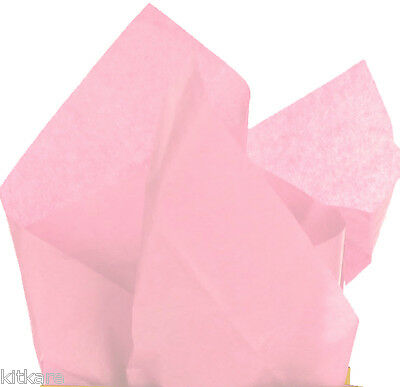 """Slight Seconds. 50 Sheets of SOFT Baby Pink Tissue 50cm x 75cm (20""""x30"""") A/F"""