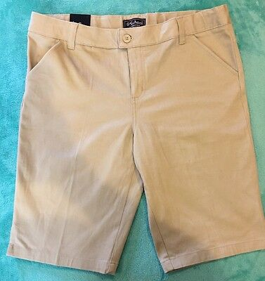 Girls French Toast School Shorts Long Size 18 NEW!