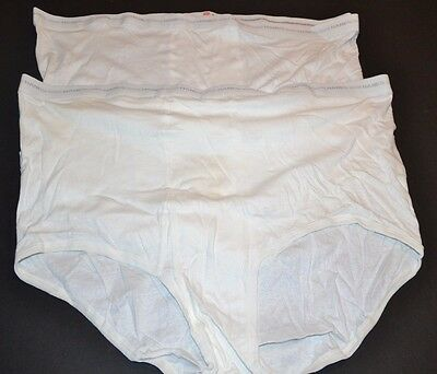 VINTAGE Hanes 100% Cotton Briefs 2-Pairs BIG & TALL RARE SIZE 60 1980's