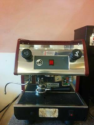 La Pavoni Commercial Espresso Machine Maker PUB1 Red, 1 Group,  Used