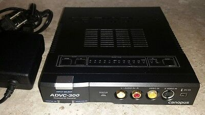 Grass Valley Canopus ADVC-300 Analog to Digital Video Converter Advanced DV EUC