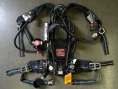 Scott 2.2 AP75 SCBA CBRN Reg HUD RIT/UAC Firefighter Air Pack Harness Respirator