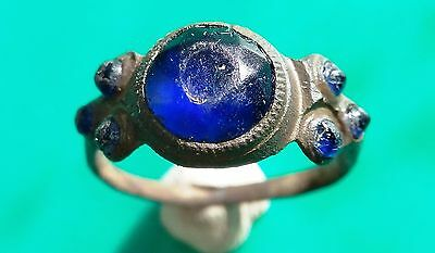 Post Medieval bronze Ring 17 century