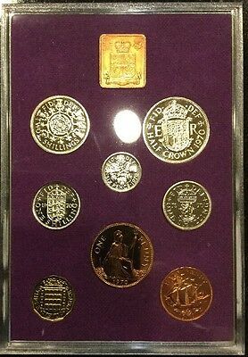 1970 COINAGE OF GREAT BRITAIN AND NORTHERN IRELAND - New w/ COA and Slipcase.