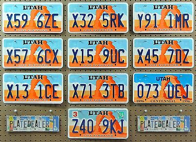 10 UTAH Life Rock Arch License Plates Tags Art Man Cave Murals Signs LOT 596