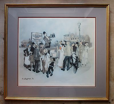 Margaret Chapman (1940-2000) Large Limited Edition Signed Print-Northern Art