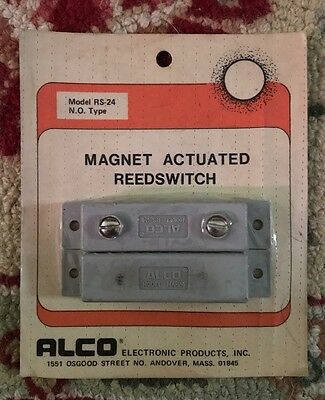 ALCO (RS-24) Magnet Actuated Reedswitches (13 New) Old Stock