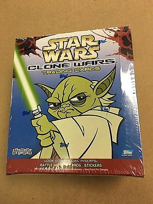 2004 Topps Star Wars Clone Wars Box Factory Sealed Unopened 36 Packs