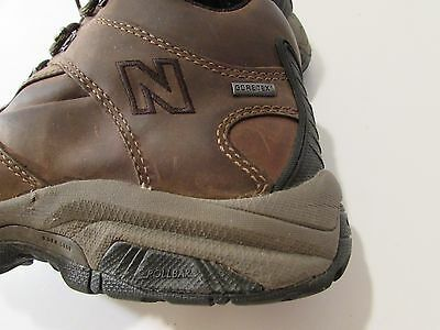 Gore Tex New Balance Mens Brown Ankle Hiking Lace Up Boots Size 9