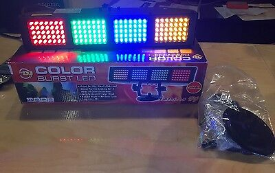 American DJ Color Burst LED - Wash Light with 4 Color Banks (Open Box)