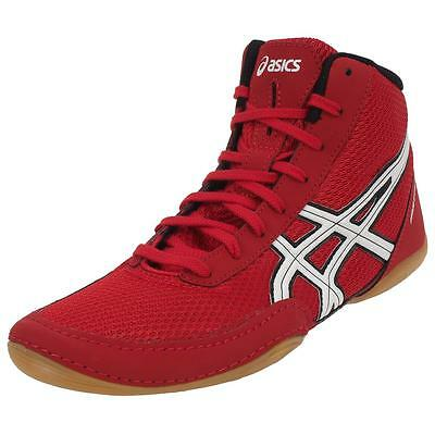 Shoes for fight Asics Matflex Red Fight red 51065 - New