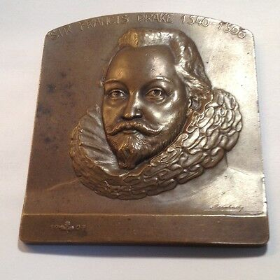 1907 Sir Francis Drake ANS Bronze Medal-- Mintage of 102 in Bronze