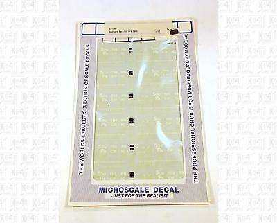 Microscale HO Decals SP Southern Pacific 26' Ore Cars 87-194