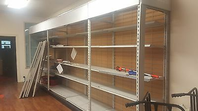 Gondola shelves shelf madix garage convenience store business
