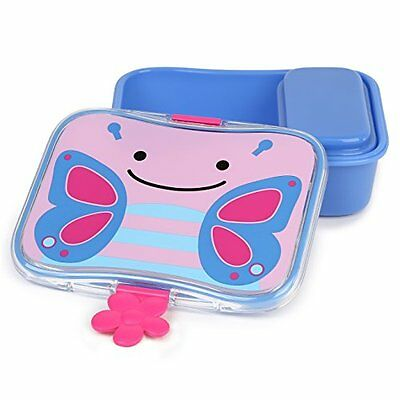 Skip Hop Baby Zoo Little Kid and Toddler Mealtime Lunch Kit Feeding Set, Multi,